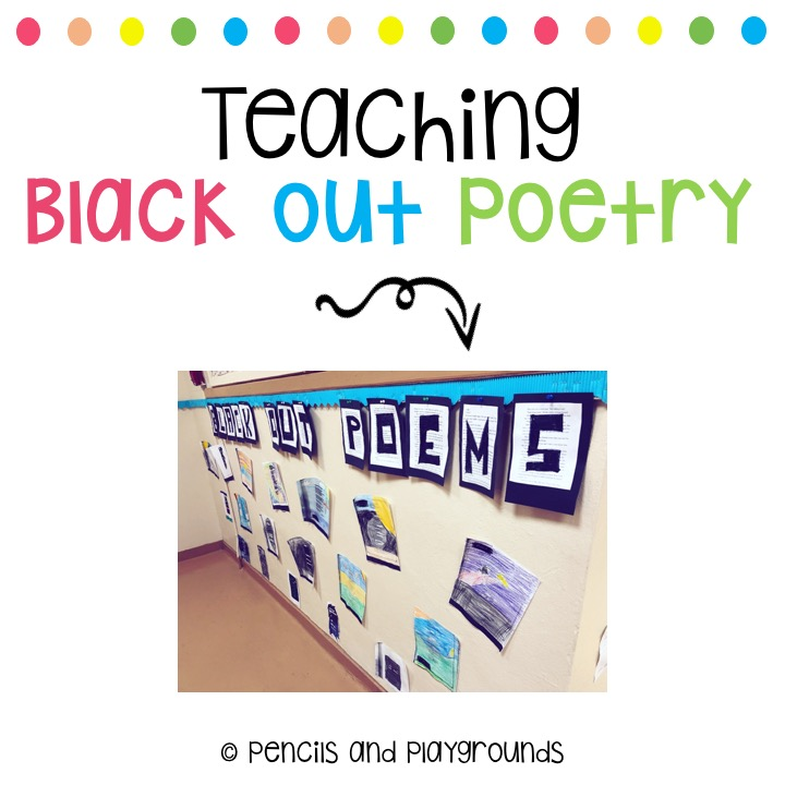 Teaching Black Out Poetry