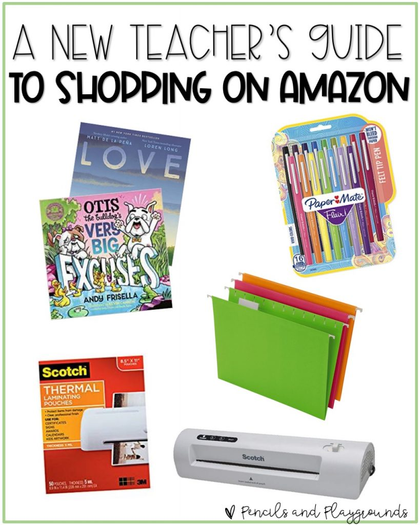 a new teachers guide to shopping on Amazon