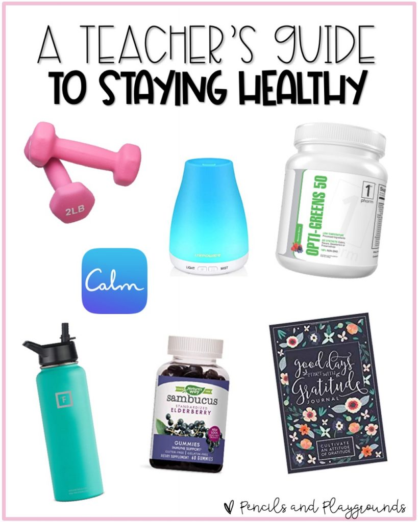 A teacher's guide to staying healthy